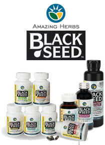 Black Seed Oil and Supplements from Amazing Herbs